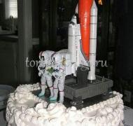 Прикольные торты на свадьбу # 5