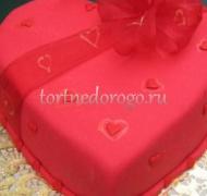 Торт на 14 февраля #28