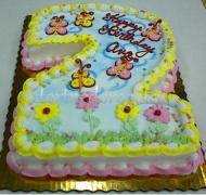 Торт детский цифра #4