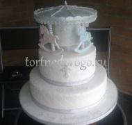 Торт на крестины # 26