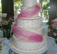 Торт свадебный 5 ярусов # 30