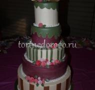 Торт свадебный 5 ярусов # 9