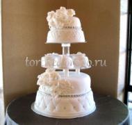 Торт свадебный 5 ярусов # 18