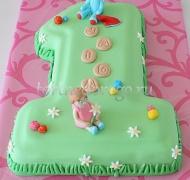 Торт детский цифра #29