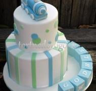 Торт на крестины # 27