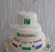 Корпоративный торт # 12