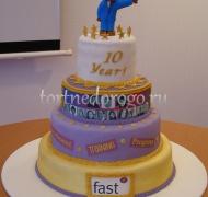 Корпоративный торт # 13