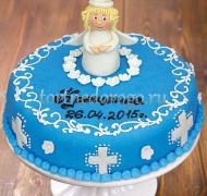 Торт на крестины - Ангел