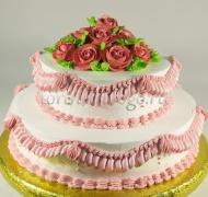 Торт без мастики # Воздушный