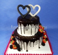 Торт без мастики # Легкость