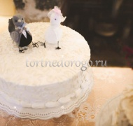 Торты свадебные 1 ярус # 7