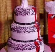 Прикольные торты на свадьбу # 13