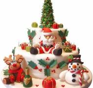 Торт на новый год #8