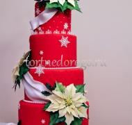 Торт на новый год #9
