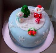 Торт на новый год #3