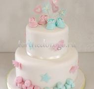 Торт на крестины # 24