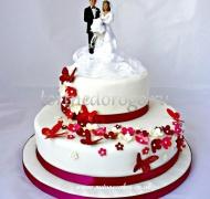 Торт свадебный  ярус # Возлюбленные