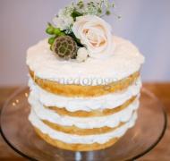 Торты свадебные 1 ярус # Изумление