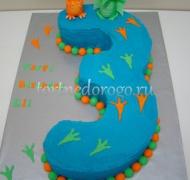 Торт детский цифра #6