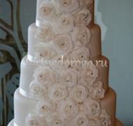 Торт свадебный 5 ярусов # 5