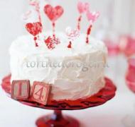Торт на 14 февраля #6