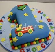 Торт детский цифра #34