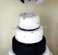Торт свадебный 4 яруса № 14