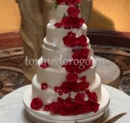 Торт свадебный 5 ярусов # 21