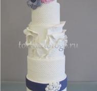 Торт свадебный 5 ярусов # 12