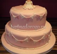 Торт на крестины # 21