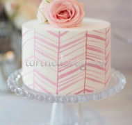 Торты свадебные 1 ярус # Желание