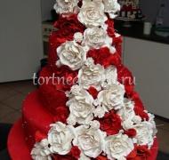 Прикольные торты на свадьбу # 18