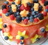 Фруктовые торты # 31