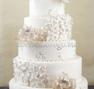 Торт свадебный 5 ярусов # 23