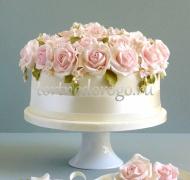 Торты свадебные 1 ярус # Мечта