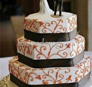 Прикольные торты на свадьбу # 19