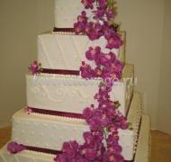 Торт свадебный 5 ярусов # 25