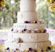 Торт свадебный 5 ярусов # 13