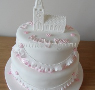Торт на крестины # 16