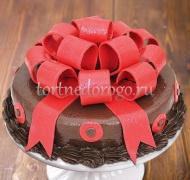Прикольные торты на день рождения # Шоколадый подарок