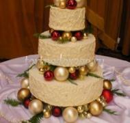 Торт на новый год #5