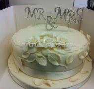 Торт свадебный 1 ярус # 2