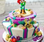 Прикольные торты на свадьбу # 9