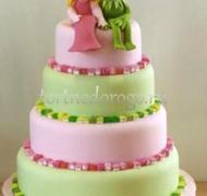 Прикольные торты на свадьбу # 22