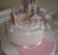 Торт на крестины # 22