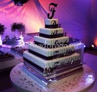 Торт свадебный 5 ярусов # 26