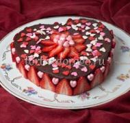 Торт на 14 февраля #8