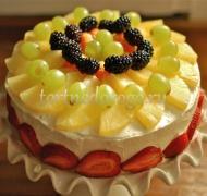 Фруктовые торты # 20