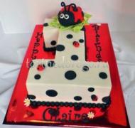 Торт детский цифра #25