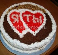 Торт на 14 февраля #9